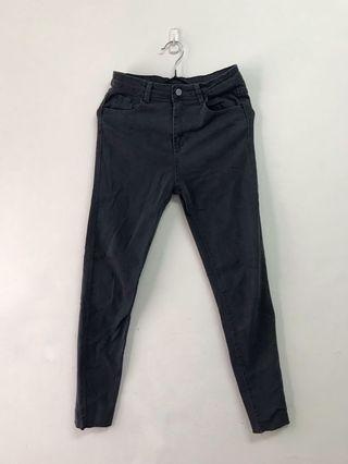 超顯瘦 彈力 牛仔褲 小腳褲 合身長褲 單寧 中高腰