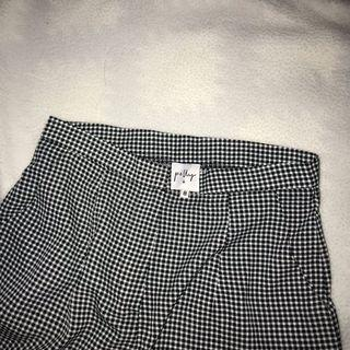 BnW Checkered Culottes