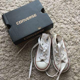 Authentic White Converse Chuck Taylor