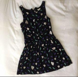 Urban Outfitters Cooperative Abstract Dress
