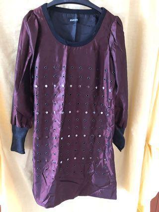 Zucca burgundy dress