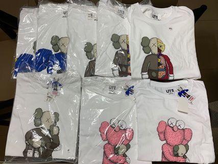 🚚 Uniqlo x Kaws t-shirt