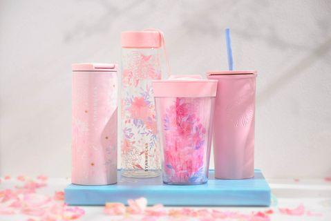 FLASH SALE: Starbucks Sakura Collection Create-Your-Own Tumbler, 16oz