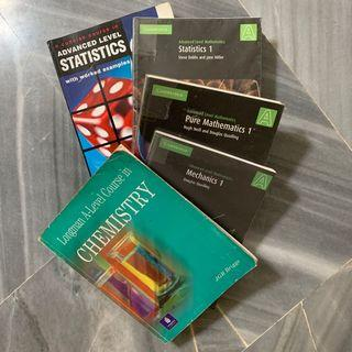 Cambridge A Levels textbooks math chem ; #CarousellFaster #CarousellBetter