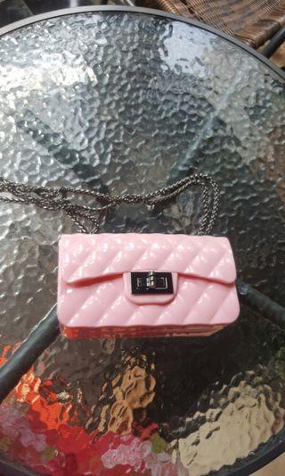 Jelly bag pink