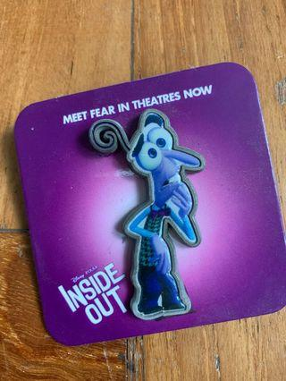 🚚 Inside Out Pin - Fear
