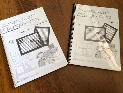 Rightstart Mathematics Level C Lessons and Worksheets