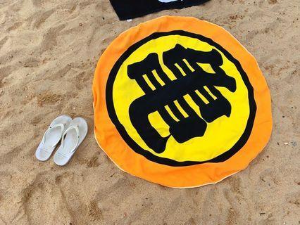龍珠沙灘毛巾 Dragonball Dragonballz beach towel goku