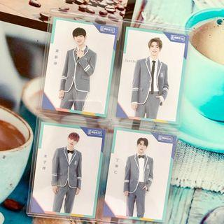 official idol producer iqiyi daka photocards