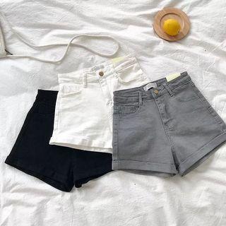 🚚 (PO) High Waist Denim Shorts