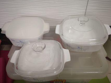 CorningWare 5 pieces