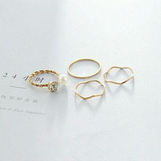 Po3 rings cincin 1set