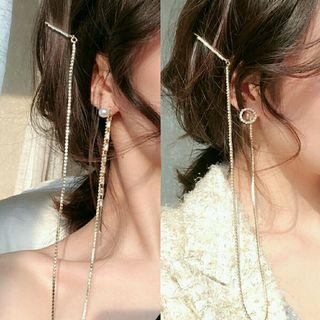 Po3 earrings anting kalung jepit