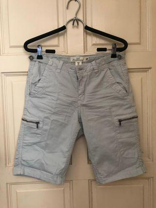 H&M light grey bermuda shorts