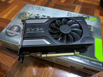 EVGA GTX1060 6G Superclocked