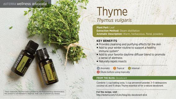 Thyme Essential Oil(Normal Price: RM120)