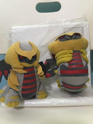 Pokemon Banpresto japan giratina altered form, origin form pokedoll plush