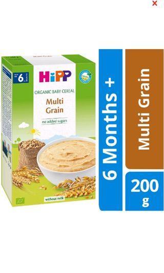 Hipp Organic Baby Cereal Multi Grain