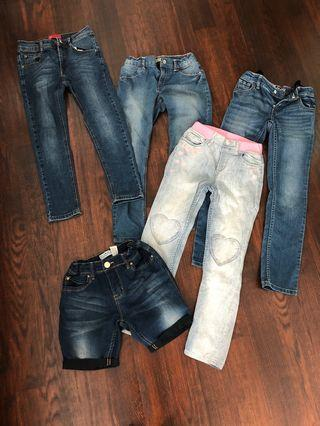 Assorted jeans for girls