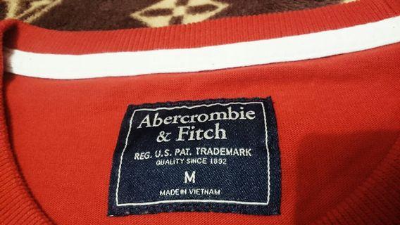 """Kaos Panjang ABERCROMBIE & FITCH #cek iklan lainnya bagus"""""""