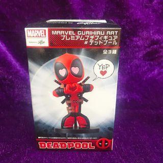Marvel Gurihiru Art 死侍 Deadpool超級英雄 模型 景品 原裝正版 日本直送 日版 (Ref:A459)