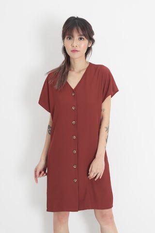 AFA Molly Sash Dress in Autumn