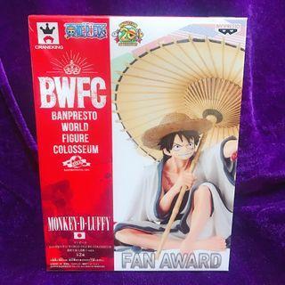 海賊王 ONE PIECE 路飛 Luffy ルフィ Figure 模型 景品 原裝正版 日本直送 BANPRESTO BWFC Banpresto World Figure Colosseum Monkey D Luffy Fan Award (Ref:A460)