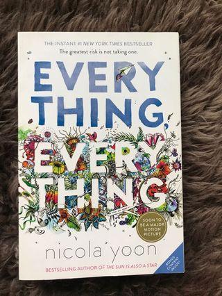Everything Everything - Nicola Yoon (English)