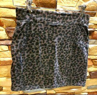 Mini Skirt Animal Print
