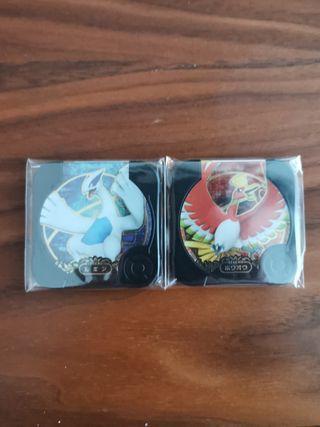 U2 Legend Lugia Ho-oh Pokemon Tretta Set