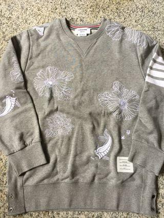 Authentic Thom Browne Koi Sweater Shirt Limited
