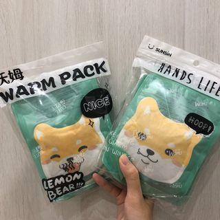 🚚 柴犬貼式暖暖包