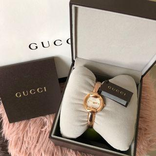 Authentic Brand New Gucci Bracelet Watch - Pearl Dial