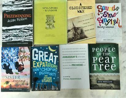 🚚 Singapore books: set of 8