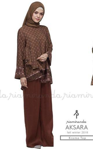 Ria Miranda- Kromo top (brown)