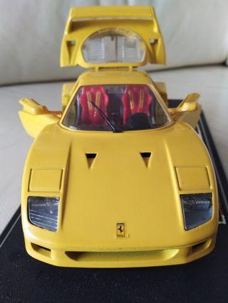 法拉利 Ferrari F40 1:24 模型車一架