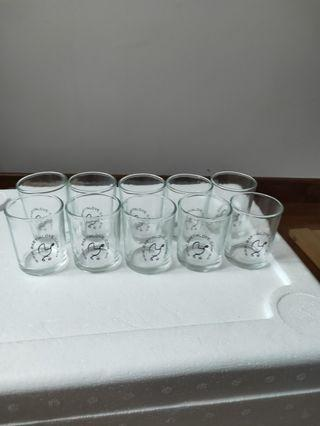 Small wine glass (10 pieces)
