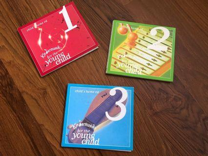 Kindermusik for the Young Child levels 1-4 CDs