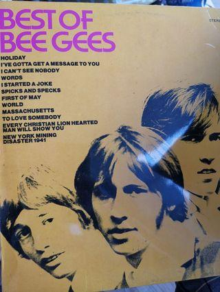 Best of bee gees vinyl record lp