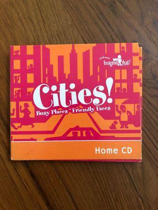 Kindermusik Cities CDs x3