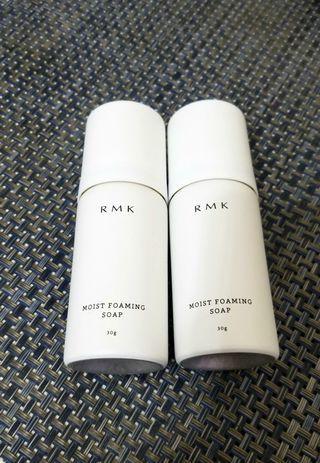 RMK Moist Foaming Soap 保濕潔面包 30ml x 2支 (全新)