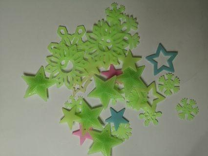 Free Glow in the dark stars for kids toys