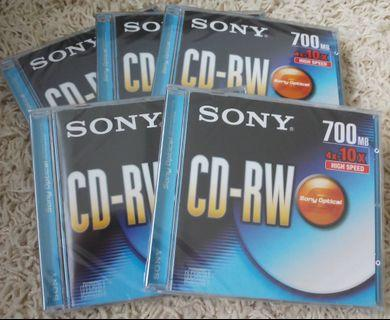SONY CD-RW (700MB) High Speed