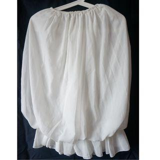 Mini Tube Dress Summer Strapless White Shoulder Tank Dress抹胸式白色連身短裙