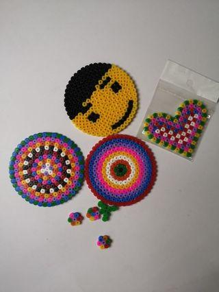 Free Coaster beads ikea