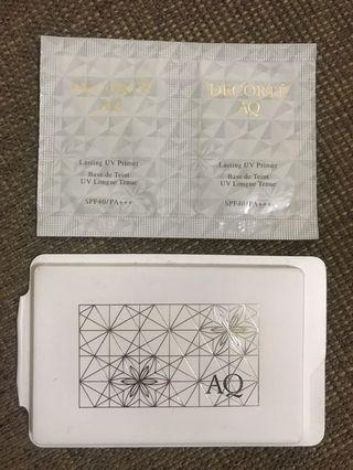Decorte 粉餅+底霜2包