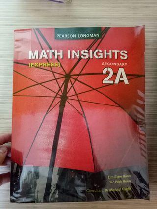 🚚 Maths textbook