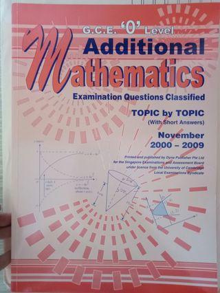 🚚 Additional maths textbook