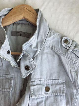 Giordano Light Blue Jacket