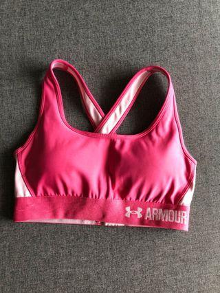 Underamour Sport Bra in pink